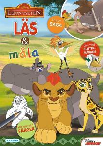 Disney Lejonvakten Läs & Måla