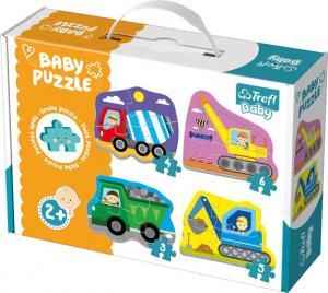 Trefl Baby Pussel - Olika fordon 3, 4, 5 & 6 Bitar