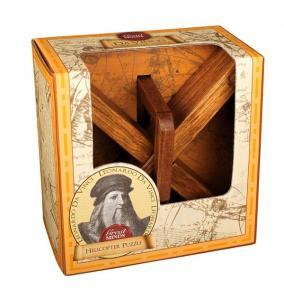 Great Minds - Wooden Puzzle - Leonardo Da Vinci's Helikopter