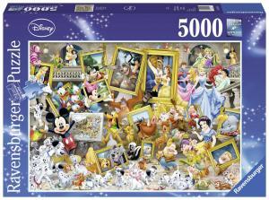 Ravensburger, Disney Målande Musse 5000 bitars Pussel