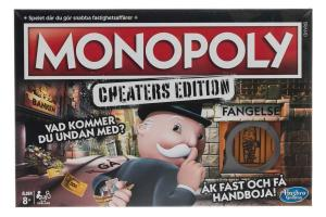 Hasbro Monopoly Game: Cheaters Edition Svensk version