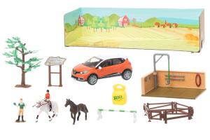 Daily Farm - Ridskola med Stall Leksaksset