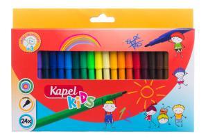 Kapel Tuschpennor 24-Pack Barn