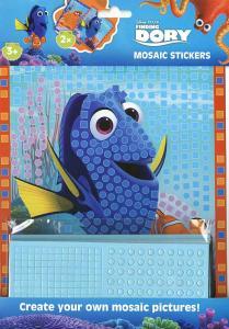 Disney Hitta Doris - Mosaikklistermärken set, Pysselset