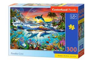 Castorland Pussel Paradis Bukten 300 Bitar