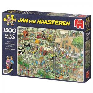 Jan Van Haasteren, på bondgården 1500 Bitar