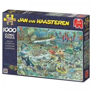 Jan Van Haasteren, på havsbotten 1000 Bitar