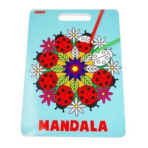 Sense Målarbok Mandala