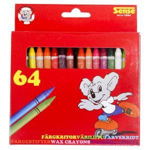 Sense Vaxkritor 64-Pack