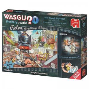 Wasgij Mystery 1: Retro - Wasgij Expressen! 1000 Bitar