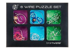 Braintwister - Hjärngympa - Metallpussel 6-pack