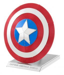 Metal Earth - Marvel, Captain America's Sköld - Modellbyggsats i metall