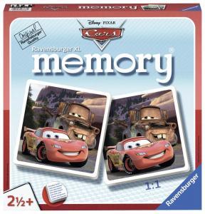 Ravensburger, Disney Cars - Bilar Memory XL