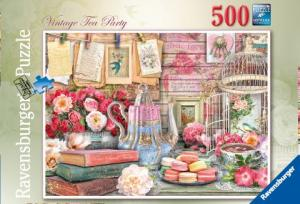 Ravensburger Pussel - Vintage Te Party 500 bitar