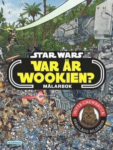 Star Wars Var är Wookien? - Målarbok