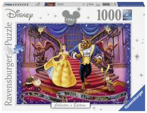 Ravensburger, Disney, Skönheten och odjuret 1000 bitar Collectors Edition
