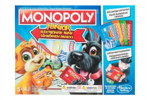 Monopoly Junior Elektronisk Bank (Svensk Version)