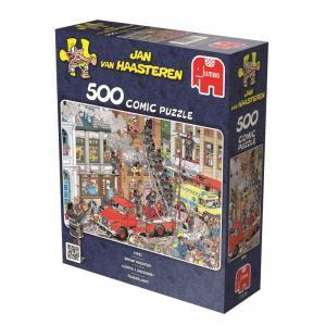 Jan Van Haastern, Det brinner! 500 Bitar