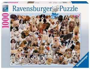 Ravensburger, Kollage med hundar 1000 bitar