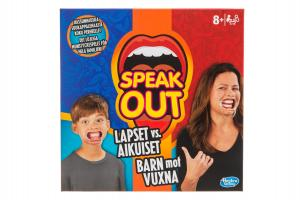 Hasbro, Speak Out Barn mot Vuxna (svensk version)