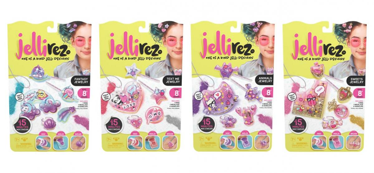 Jelli Rez Style Me Pack - Sweets Jewelry