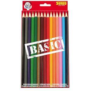 Sense Träfärgpennor Basic 15-Pack