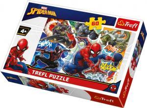 Trefl Pussel - Spindelmannen: De modiga 60 Bitar