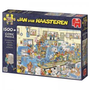 Jan Van Haasteren, tryckeriet 1500 Bitar