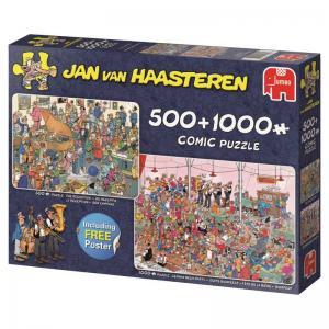 Jan Van Haasteren, 2i1 Låt festen börja!, 2 x 1000 Bitar