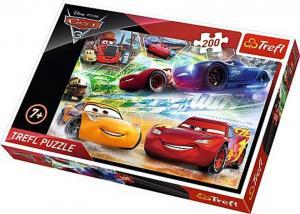 Trefl Pussel - Disney Bilar 3: Vägen till seger 200 Bitar