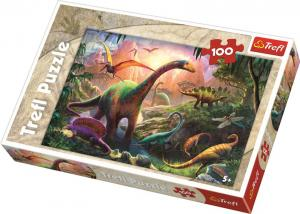 Trefl Dinosauriernas land 100 Bitar