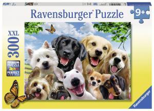 Ravensburger Pussel - Selfie Hundar 300 bitar XXL