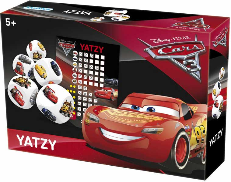 Disney Cars - Yatzy Tärningsspel