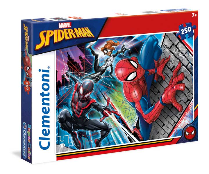 Clementoni Kids SuperColors Pussel - Spider-Man 250 Bitar