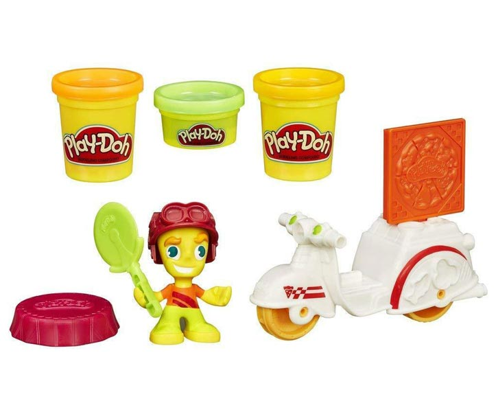 Play-Doh Town Mini Vehicle - Pizzabud
