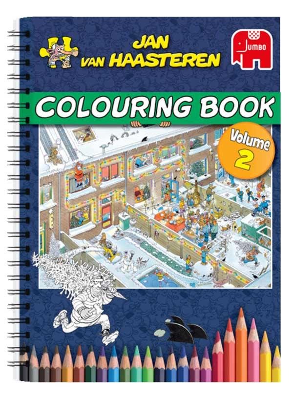 Jan Van Haasteren Målarbok 2